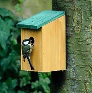 holz vogel haus nistkasten vogelhaus meisen. Black Bedroom Furniture Sets. Home Design Ideas