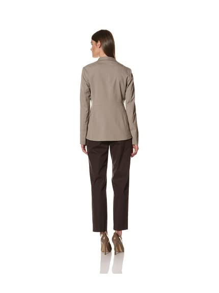 JIL SANDER Women's Stretch Wool Poplin Jacket