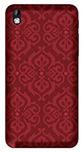 Wow Premium Design Back Cover Case For HTC Desire 816