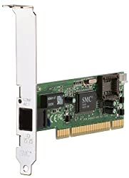 SMC 10/100 MBPS PCI Adapter RJ-45 Full Duplex