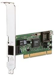 SMC 10/100 MBPS PCI Adapter RJ-45 Full Duplex
