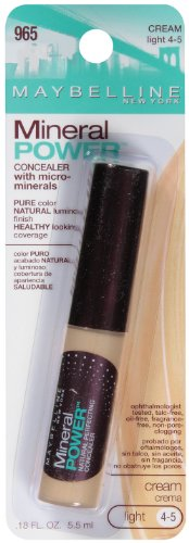 Maybelline New York Mineral Power Concealer, Cream, Light 4-5