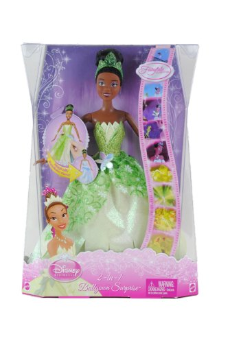 disney store tiana	doll barbie the