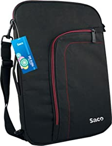 Saco superfit slim convertible bag for Acer Aspire E E1 572G Notebook   15.6 inch   Black   available at Amazon for Rs.650