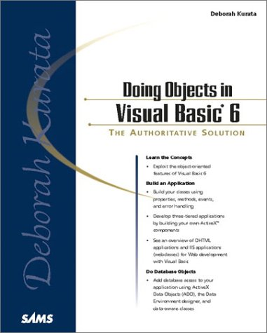 Doing Objects in Visual Basic 6