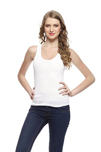 Friskers Women's Tank Top (FY-SPG-02_White_Medium)