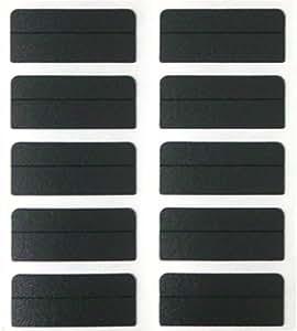 FastCap Black Fastcaps for 500 Bulk Pack Polycarbonate KK
