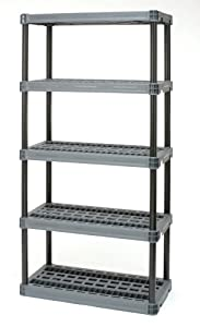 Plano Molding 9618-00 Heavy Duty Interlocking Shelving