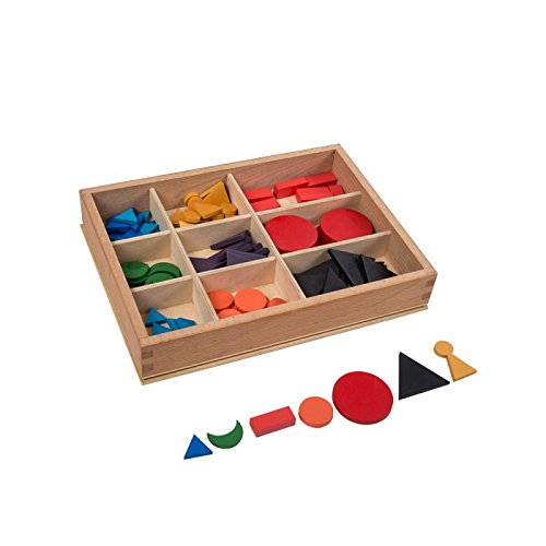 Montessori Language Basic Wooden Grammar Symbols with Box