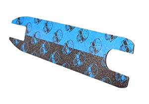 MGP Shock Skull Print Grip Tape with 10 Stickers (Blue)