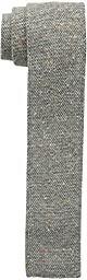 Tommy Hilfiger Men\'s Donegal Knit Slim Tie, Charcoal, One Size