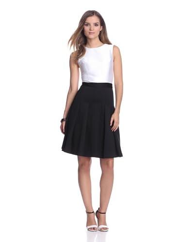 Christian Siriano Women's 2-Tone Dress