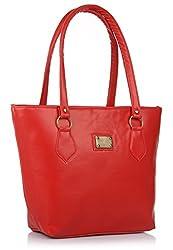 Utsukushii Women's Handbag (Red) (BG1386B)