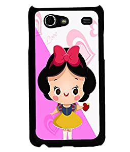 Fuson 2D Printed Girly Designer back case cover for Samsung Galaxy S Advance I9070 - D4577