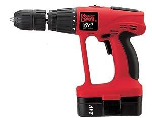 Power Devil PDD2245KLLD Cordless Hammer Drill 24v  (Old Version)