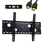 VideoSecu Black Tilt TV Wall Mount