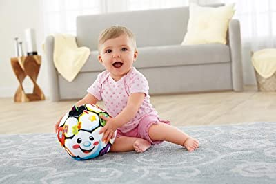 Fisher-Price Laugh & Learn Singin Soccer Ball