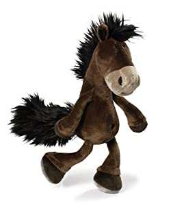 NICI 32224 Brown Dangling Horse 25 cm