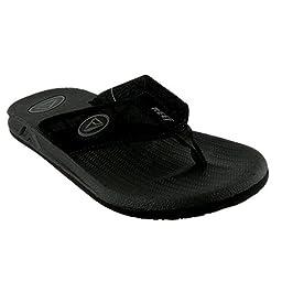 Reef Men\'s Phantoms Sandal, Black, 9 M US