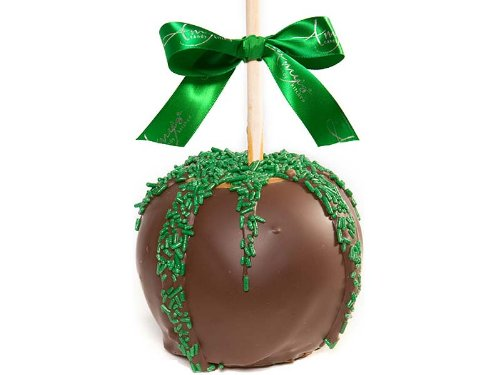 St. Patty's Chocolate Dunked Caramel Apples Gift