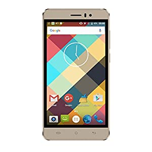 Cubot Rainbow Mobile Phone Android 6.0 Operation System 5.0 inch IPS Screen GSM/WCDMA No-Contract Smartphone Dual SIM Card Standby MT6580 Quad-Core CPU 16GROM 1G RAM (Gold)