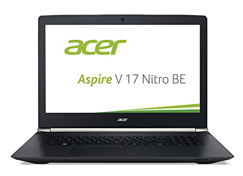 Acer Aspire V 17 Nitro (VN7-792G-52FY) 43,9 cm (17,3 Zoll Full HD IPS) Notebook (Intel Core i5-6300HQ (Skylake), 8GB DDR4-RAM, 1TB HDD, NVIDIA GeForce GTX 950M, DVD, Win 10 Home) schwarz