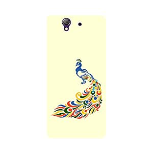 Digi Fashion Designer Back Cover with direct 3D sublimation printing for Sony Xperia Z
