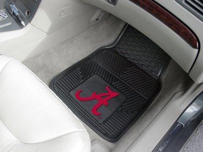 Fanmats Alabama Crimson Tide Heavy Duty Vinyl Car Mats