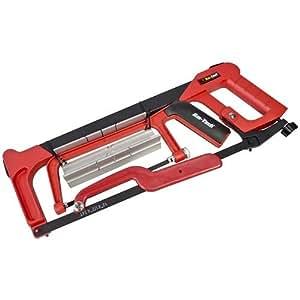 Am-Tech Set 4 pièce avec mini scie à métaux haute tension et rail de guidage (Import Grande Bretagne)