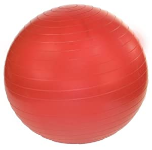 j/fit 75cm Stability Exercise Ball (Tomato Red)