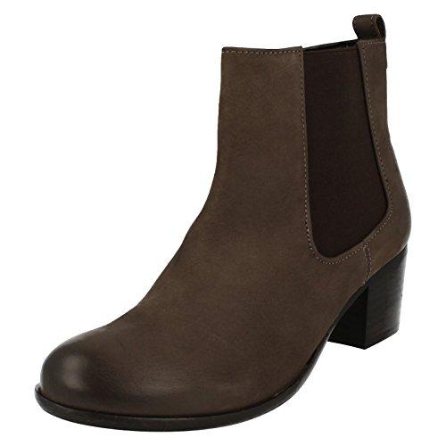 Van Dal Scarpe Stivali da donna Cato in antracite/Contrasto Gusset, grigio (Grey), 37 EU