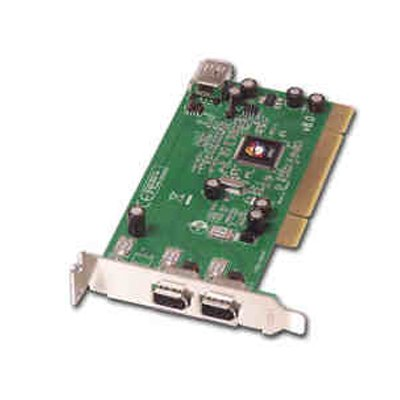 Siig Inc Low Profile 1394 Adapter FireWire adapter – Plug-in card – low profile – PCI