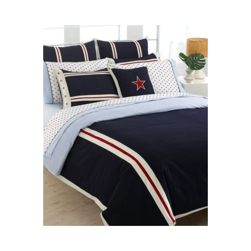 Amazon.com - Tommy Hilfiger Comforter, All American Classics