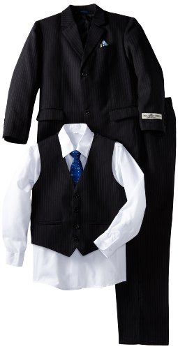 Joey Couture Big Boys' Pinstripe Suit