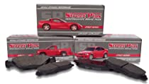SP Performance MD127 Street Plus HP Metallic Rear Brake Pads Alfa Romeo Milano 86-90
