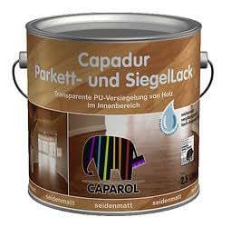 capadur parkett u siegellack 2 5 liter farblos. Black Bedroom Furniture Sets. Home Design Ideas