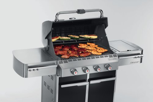 propane gas grill weber summit e 420 grill propane black. Black Bedroom Furniture Sets. Home Design Ideas