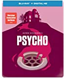 Psycho (1960) (Iconic Art SteelBook) [Blu-ray + Digital Copy + UltraViolet] (Bilingual)