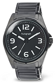 Autograph Round Face Analogue Bracelet Watch