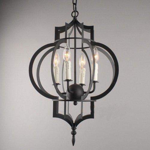 Lightinthebox Pendant, 4 Light, Novel Metal Painting Modern Simple Ceiling Light Fixture