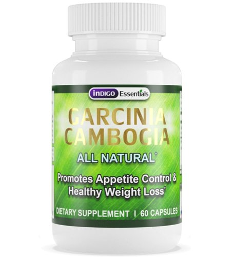 Garcinia Cambogia with HCA 100% All Natural (1 Month Supply 60CT)