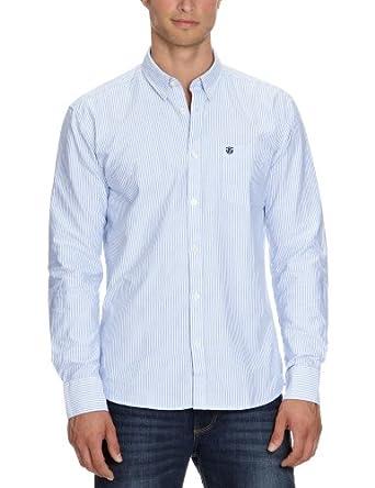 SELECTED HOMME Herren Freizeithemd Regular Fit 16022119 Collect shirt ls Stripe Mehrfarbig (Stripe) XS