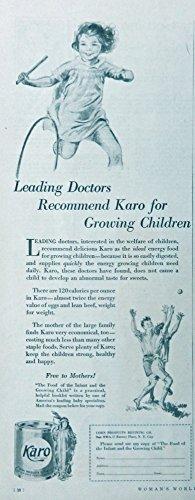 karo-30s-bw-illustrationprint-art-little-girl-rolling-a-ring-original-vintage-rare-1930-womans-world