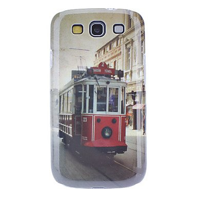 Gjy Vintage Electric Car Pattern Hard Case With Hd Screen Protector And Stylus For Samsung Galaxy S3 I9300