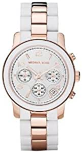 Michael Kors Women's MK5464 Runway White Watch
