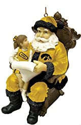 Wishlist Santa Ornament-Iowa