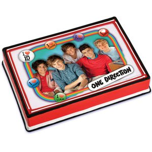 One Direction Edible Image Cake Topper by Bakery Crafts