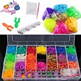 Rainbow Loom Band Kit Toy, More Than 2500 Bands Best Toy Gift Birthday Gift For Girls