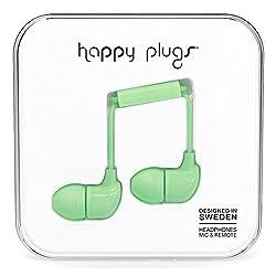 Happy Plugs 7715 In-Ear Headphone, Mint