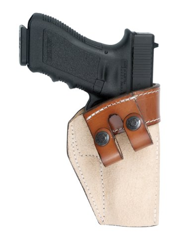 Front Line Inside The Waistband Yamam Leather Holster (Brown), Right Hand, C.Z. 75 P07 Duty